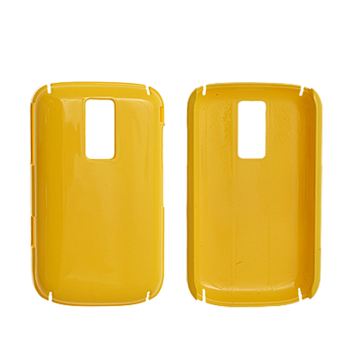 For Blackberry 9000 Yellow Hard Plastic Case Cover