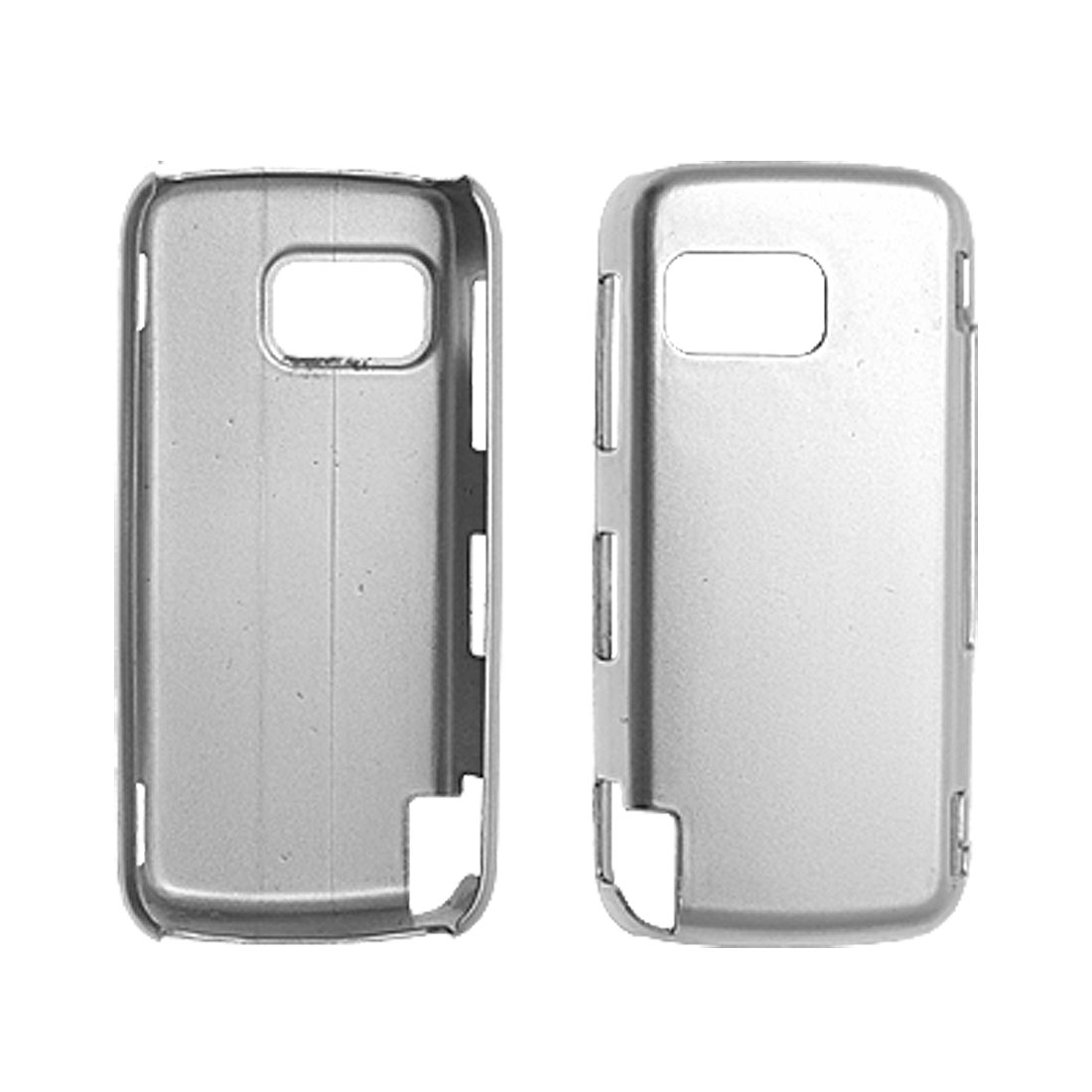 Silvery Hard Back Case Shield Protector for Nokia 5800