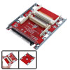 Household Office Dual CF to 44 Pin IDE Hard Drive Adapter 2.5 Inch