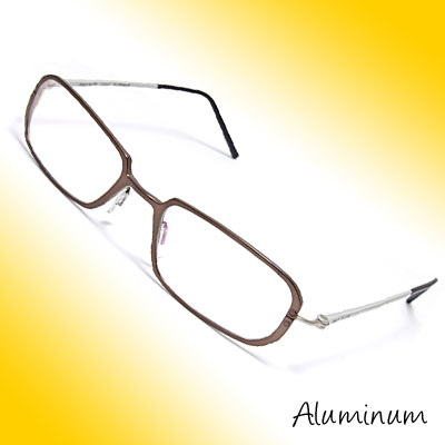 50 x 19mm Full-Rim Aluminum Optical Eyeglass Eyewear Glasses Frame