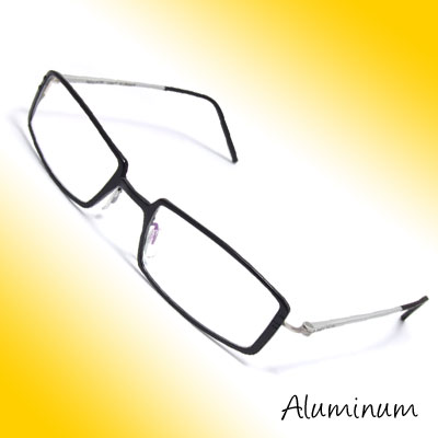 51 x 18mm Optical Eyeglass Eyewear Full-Rim Aluminum Frame