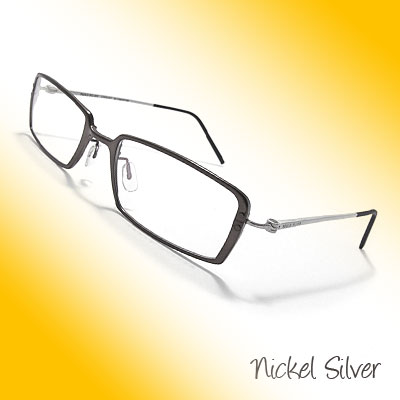 Spectacle Unisex Aluminum Glasses Plain Eyewear w/ Clear Lenses