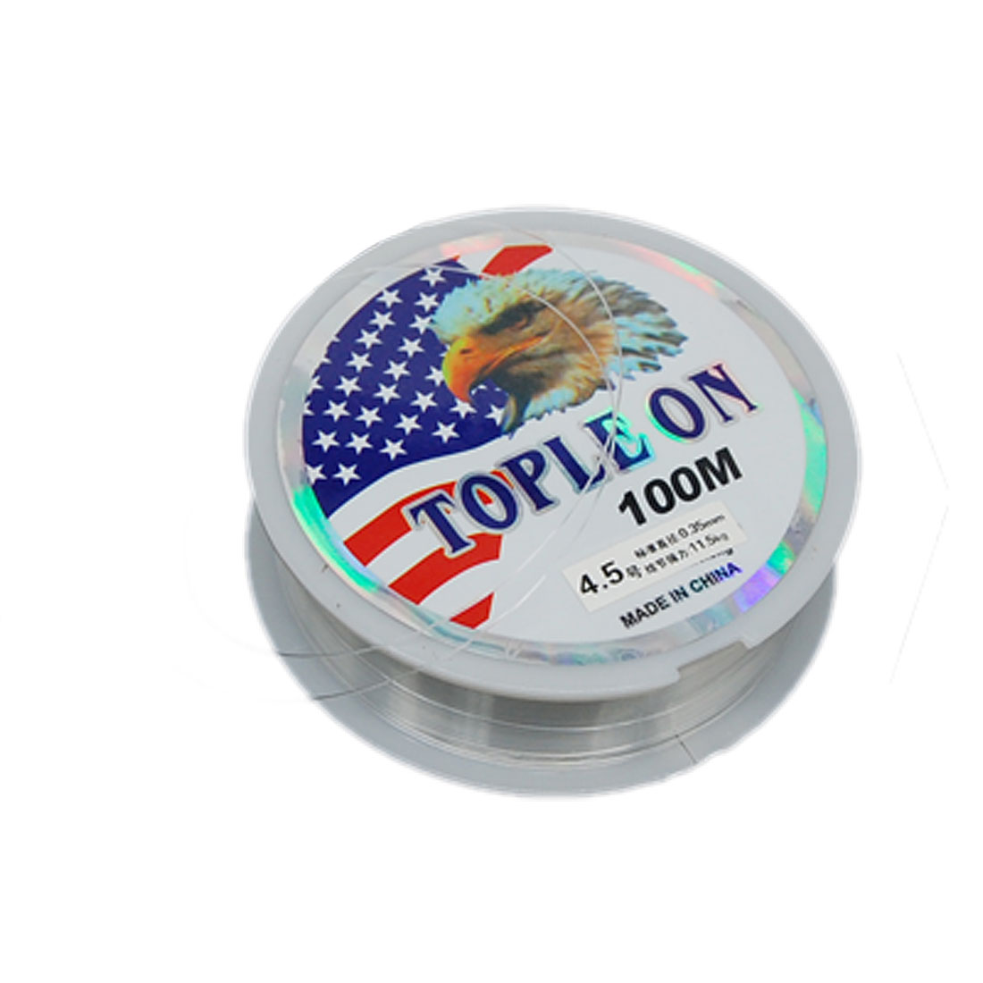 #4.5 Clear Fishing Fish Line Spool Dia 0.35mm 100M 11.5Kg 25lbs