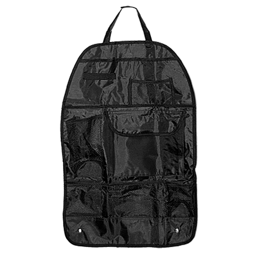 Black Travel Car Auto Back Seat Organizer Backpack Holder