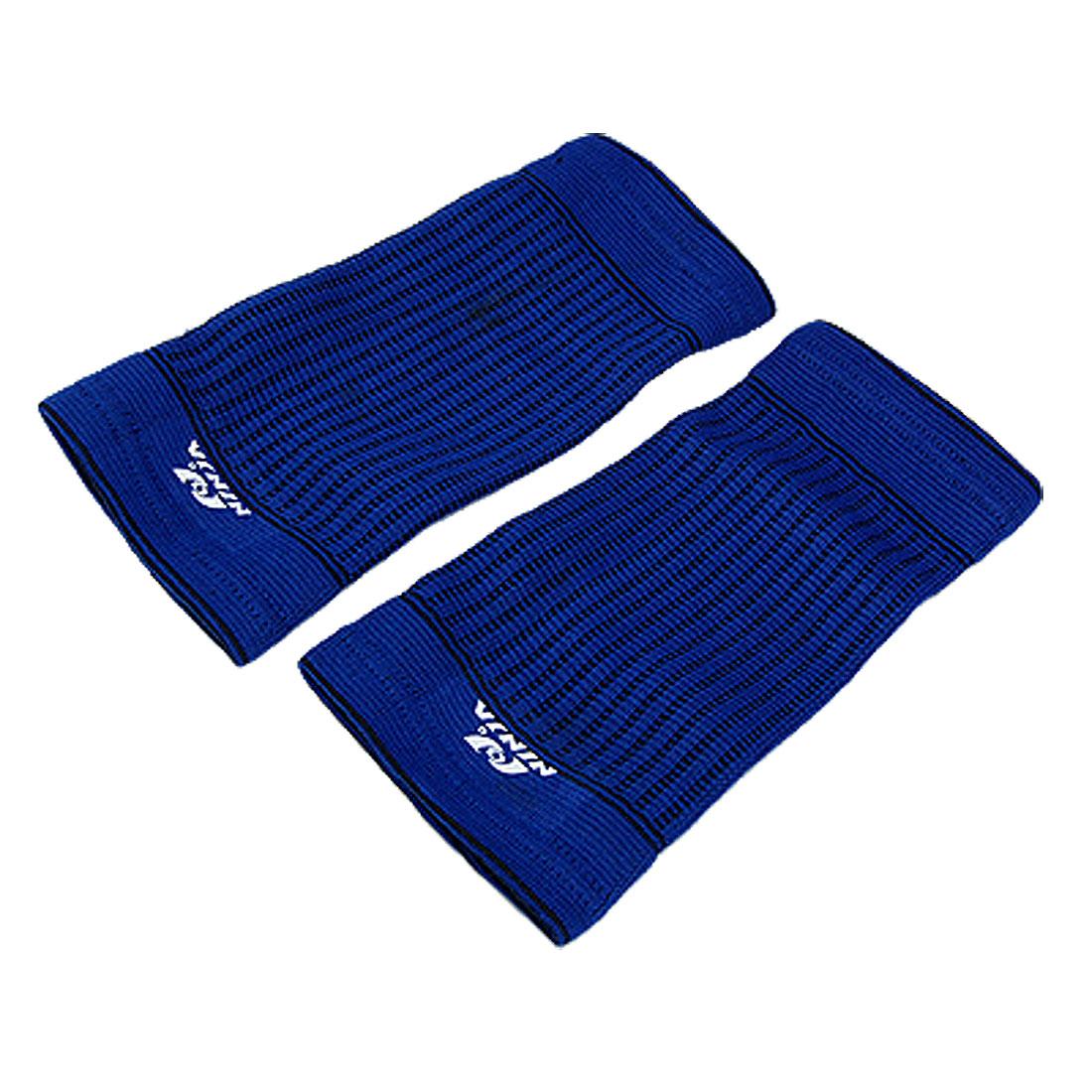 2PCS Blue Elastic Sport Crus Wrap Support Protector S