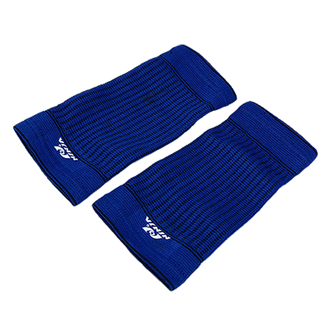 Elastic Blue Sport Crus Brace Support Protector 2PCS