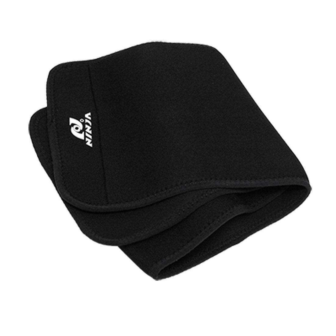Neoprene Elastic Sport Waist Support Protector Black