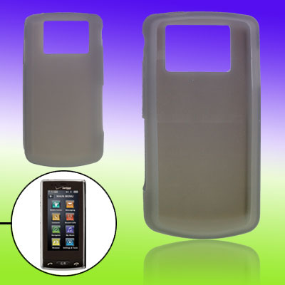 Grey Hard Silicone Skin Slipcover Case for LG 9600