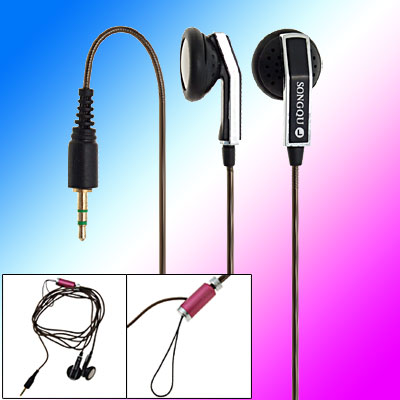 Stereo Earphone Headphone for MP3 MP4 2.5mm connector