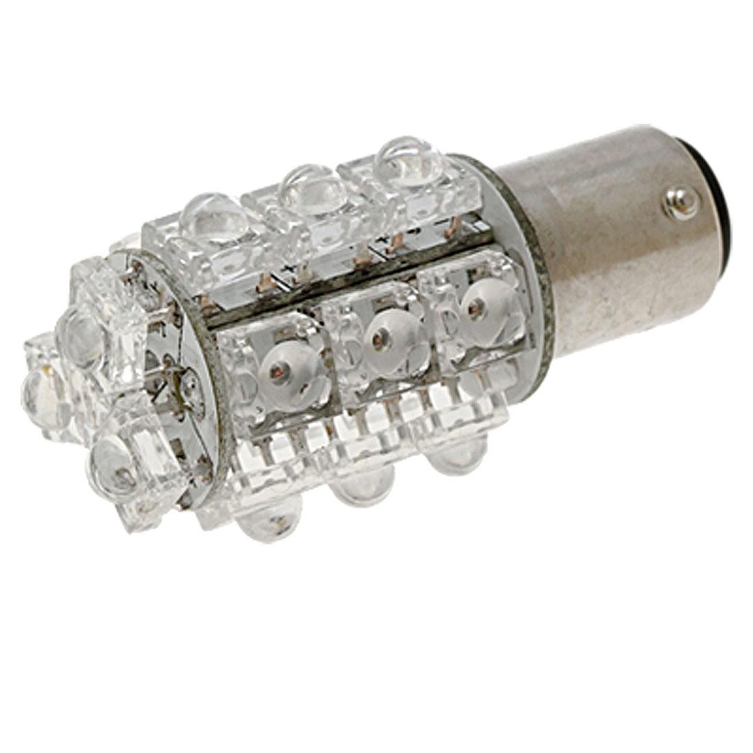Car S25 18 LED Stop Tail Brake Reverse Signal Lamp Bulb Light White