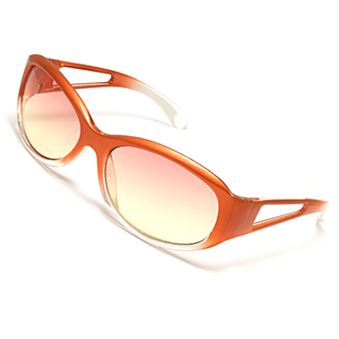 Trendy Plastic Frame Ladies Sports Eyewear Sunglasses