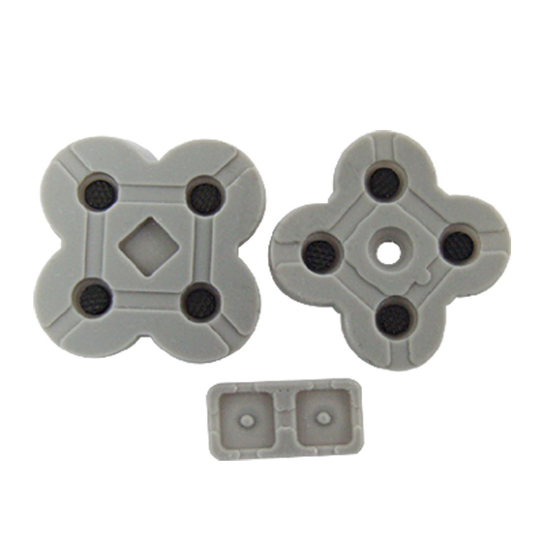 3PCS Replacement Buttons Conductive Pads for Nintendo NDS Lite NDSL
