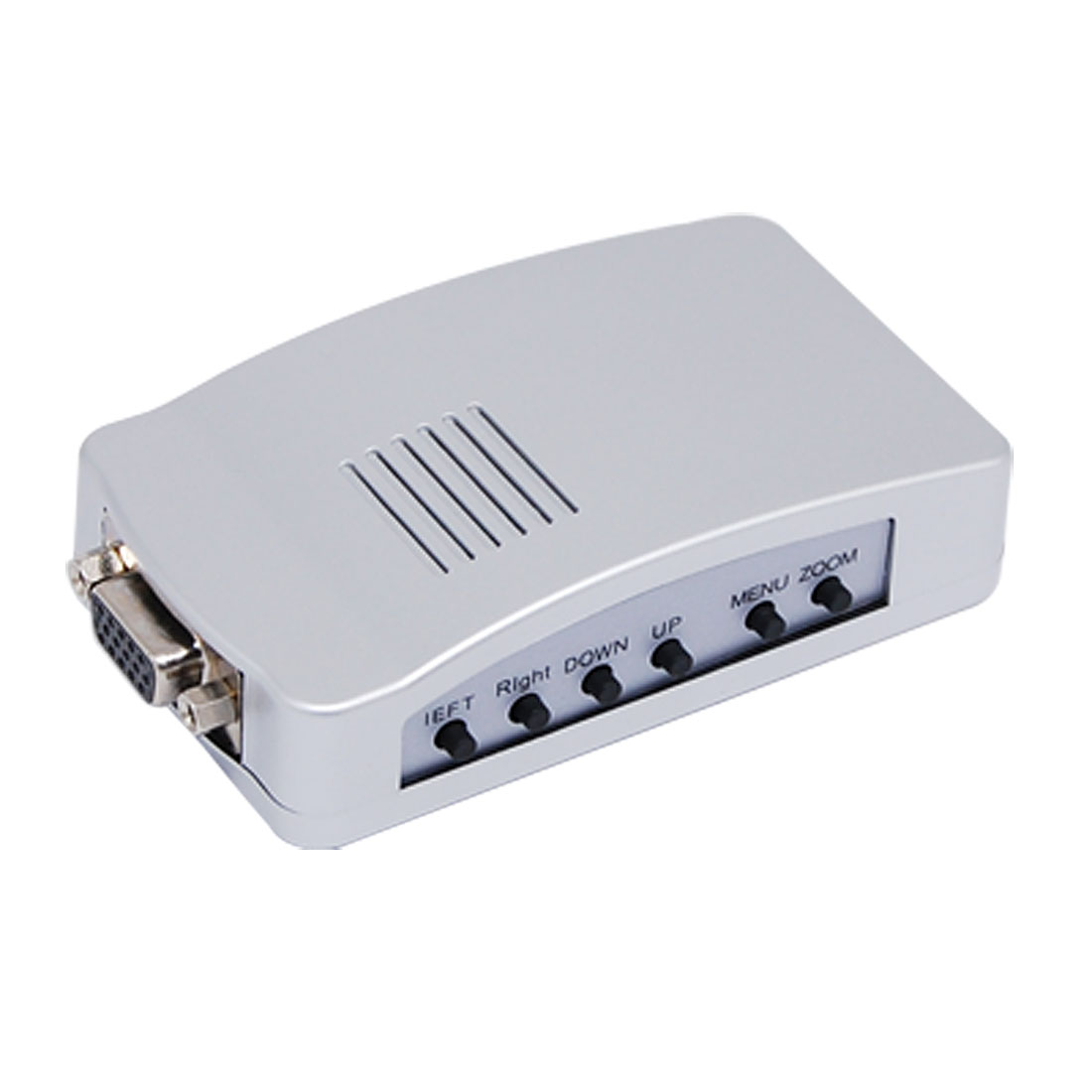 Portable PC VGA to TV Video Signal Converter Box for PC Laptop