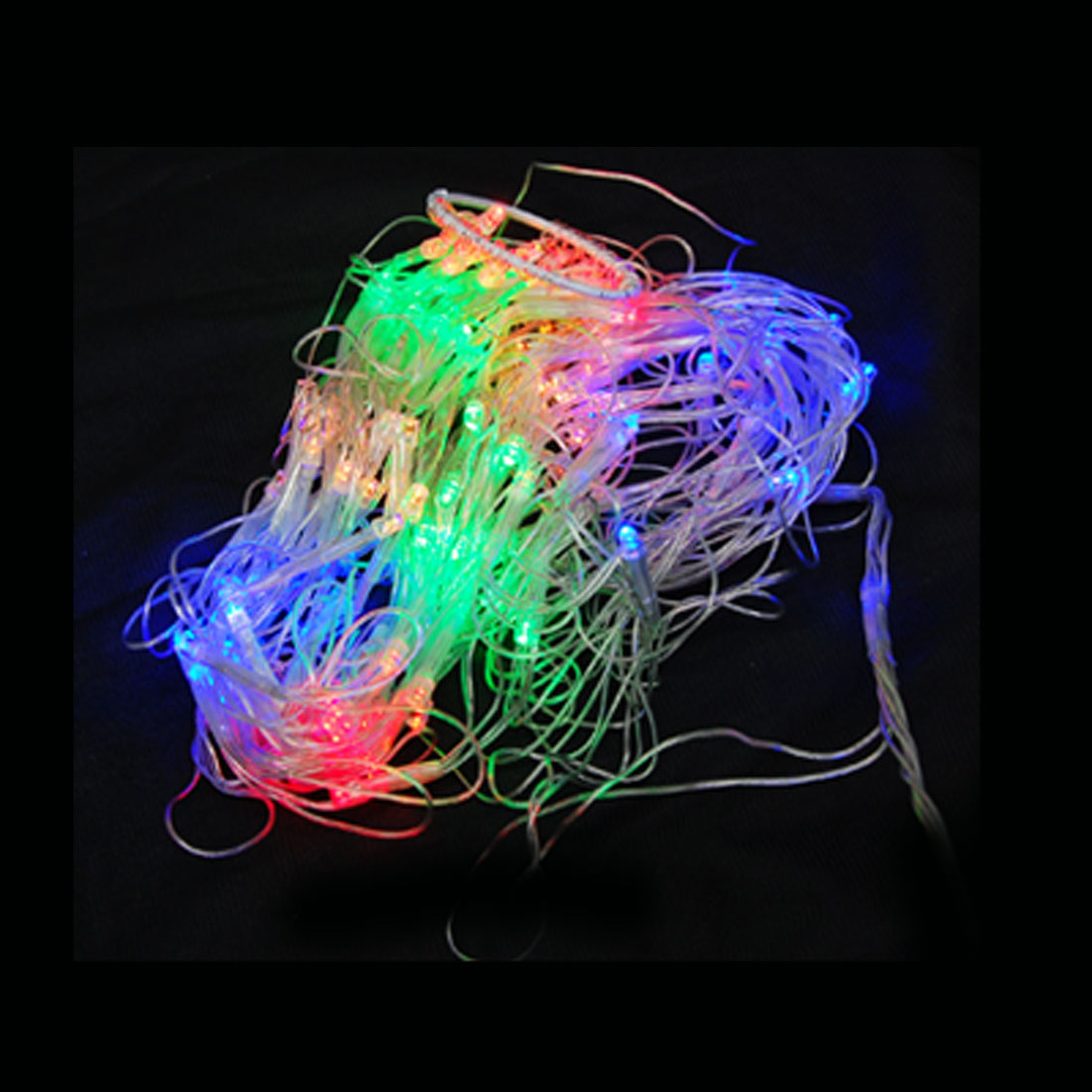 US Plug Cobweb 110V String 120 LED Light X'mas Party Flashing Light