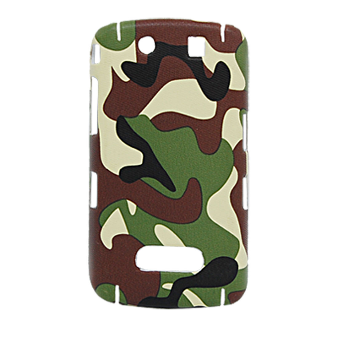 Army Camouflage Back Case Hard Shell Protector for Blackberry 9500