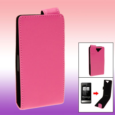 Cell Phone Genuine Cow Leather Case Cover for HTC Touch Diamond 2 2nd Gen