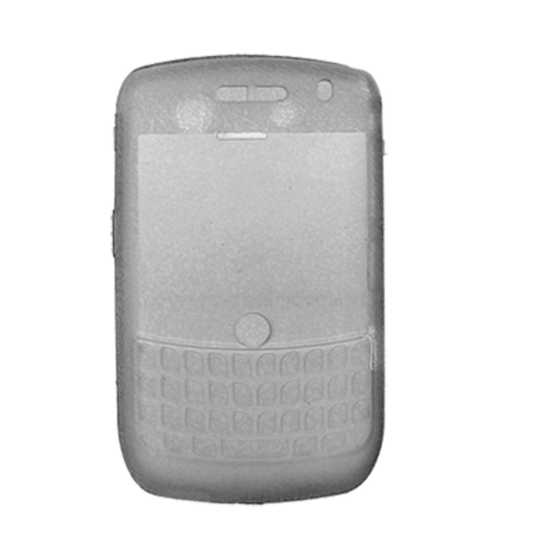 Clear Gray Frosted Shield Case+ Screen Visor for Blackberry 8900 9300