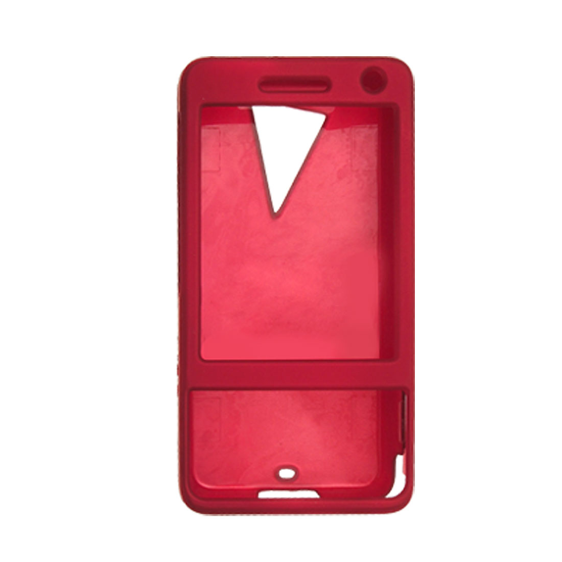 Fashion Hot Red Plastic Case for HTC TOUCH PRO