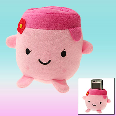 Desktop Stuffed Plush Holder for MP3 Mobile Cell Phone