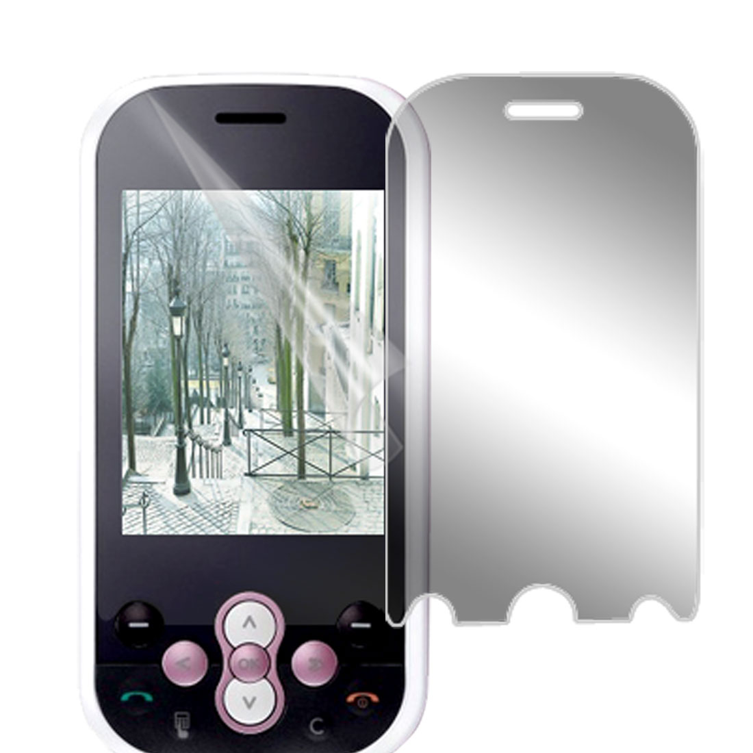 Clear LCD Screen Shield For LG KS360