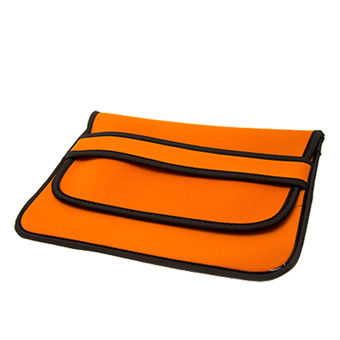 "10"" 10.1"" 10.2"" Orange Black Neoprene Notebook Laptop Sleeve Bag Case"