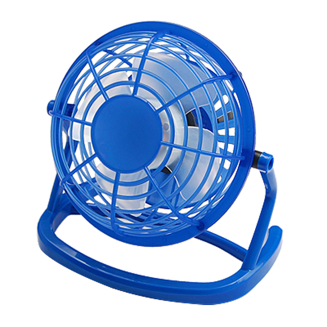 Blue Portable USB Mini Cooling Fan for Laptop / Computer