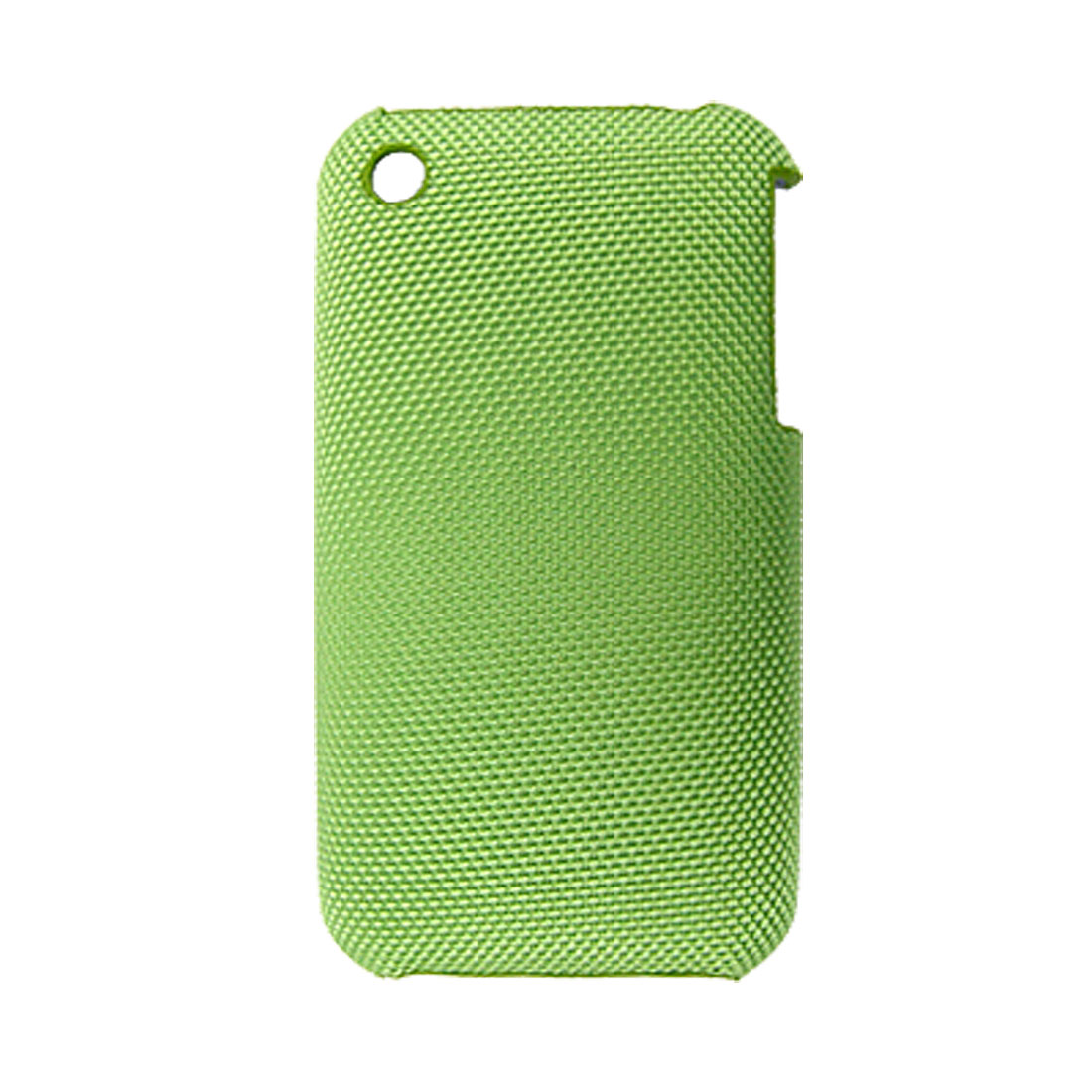 Green Hard Plastic Back Shield Case with Non-slip Exterior for iPhone 3G