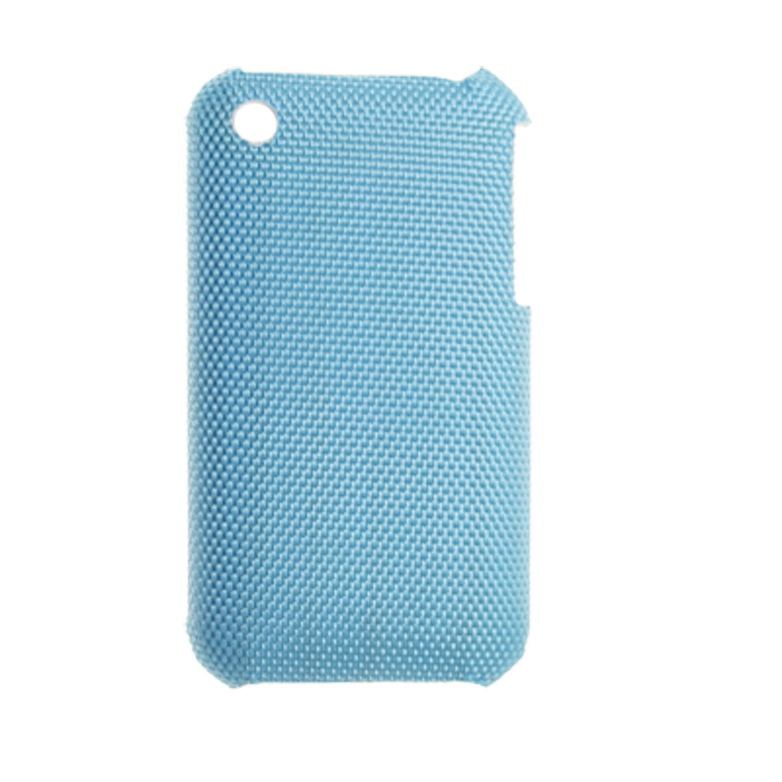 Blue Hard Plastic Back Cover Shield with Non-slip Exterior for iPhone 3G