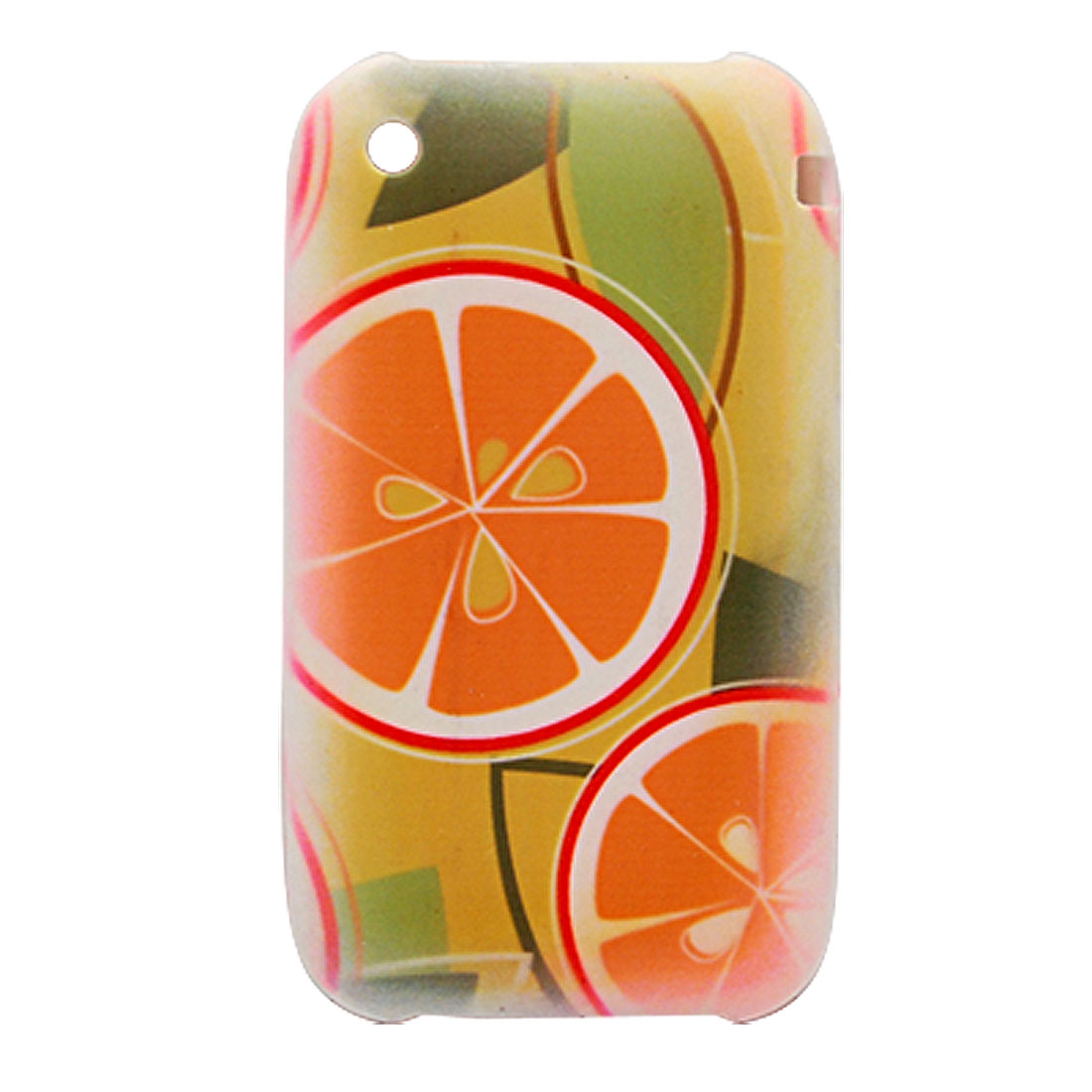 Fruit Pattern Silicone Skin Case Cove for iPhone 3G