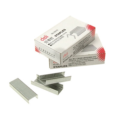 10 Cases Steel Staples Office Paper Document Fastener No.0010