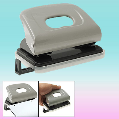 Dual Holes Stationery Office Equipment Metal Paper Punch