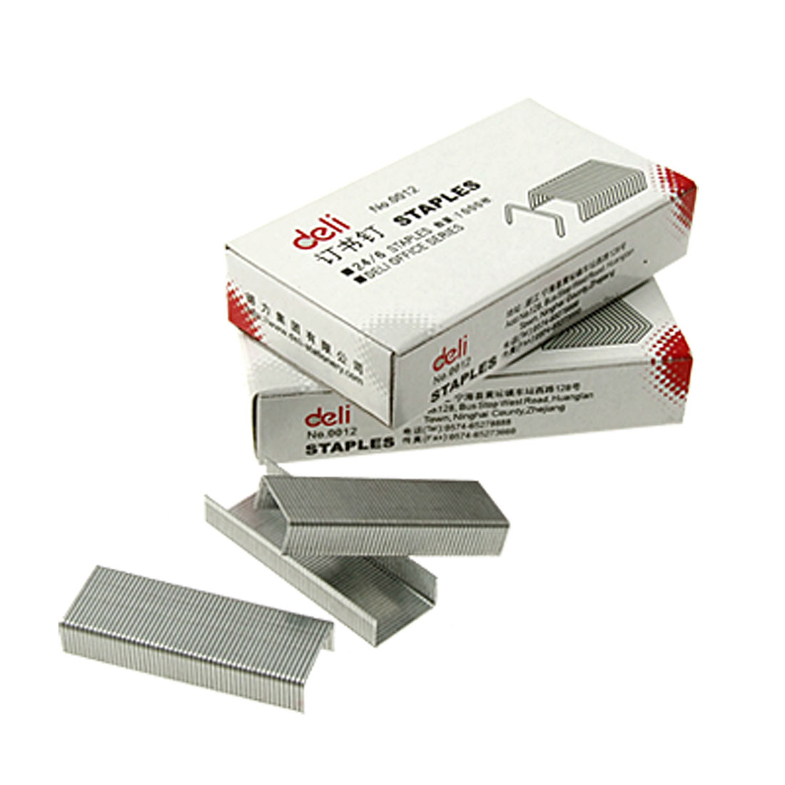 Steel Staples Office Paper Document Fastener No.0012