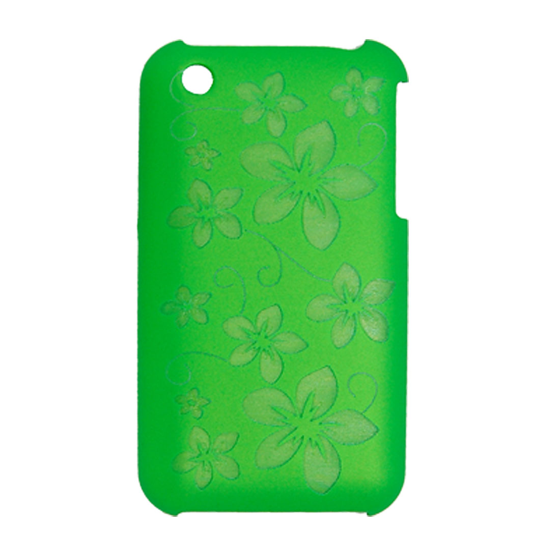 Mobile Flower Pattern Hard Plastic Back Case Skin for iPhone 3G and 3G S