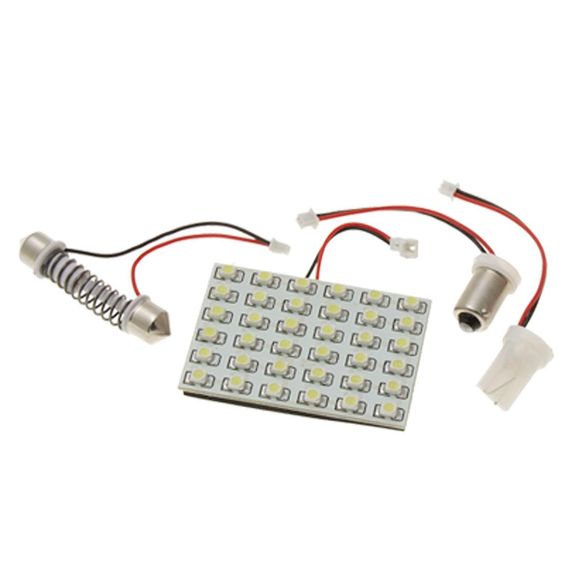 Auto Car 36 LED T10 Festoon Interior Dome Light Lamp w Adapter