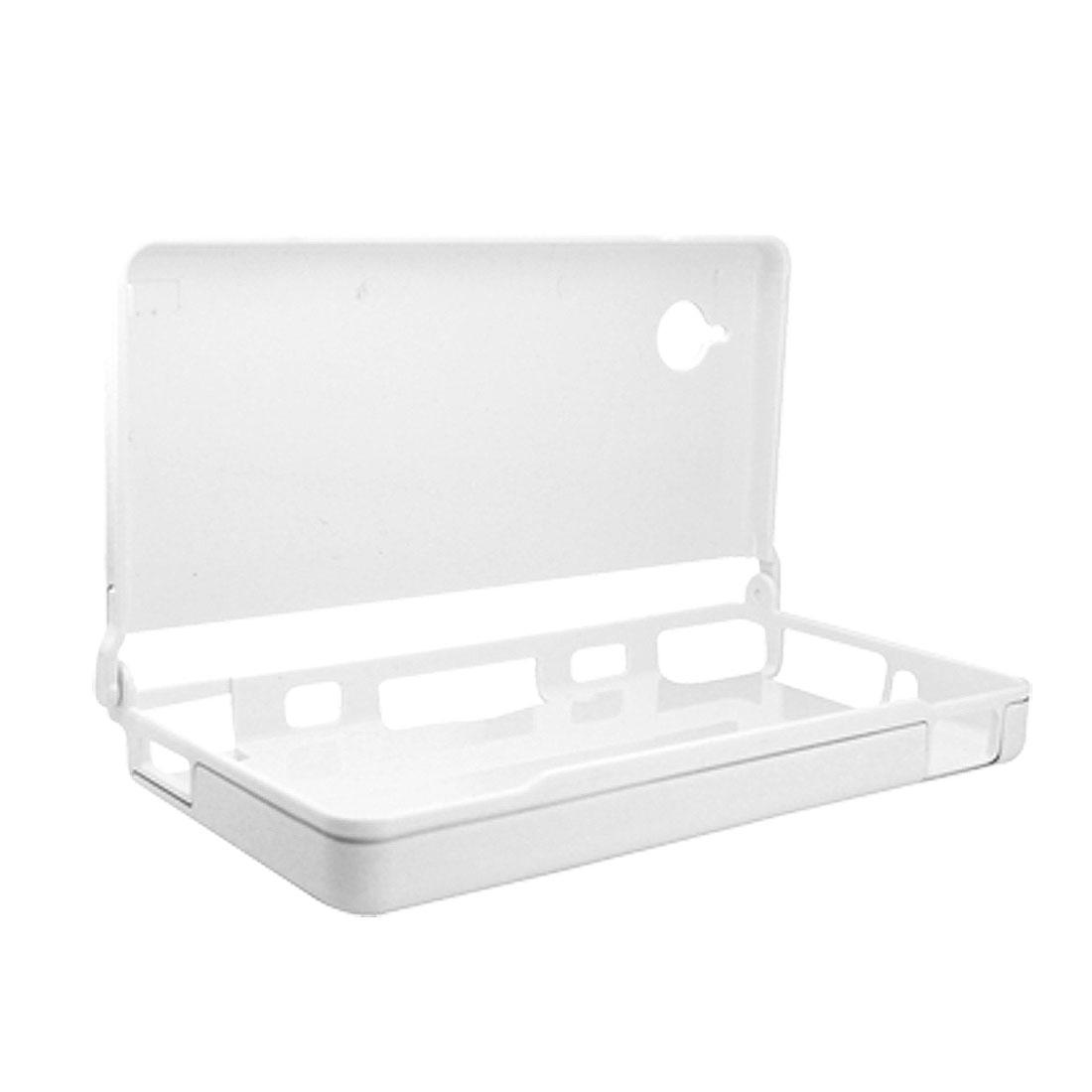 White Plastic Aluminum Carring Case Cover for Nintendo NDSi
