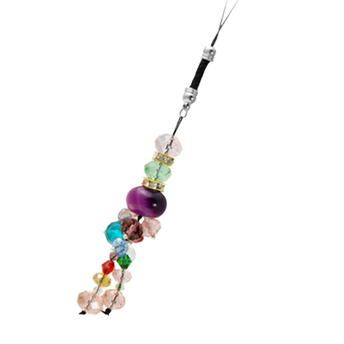 Attractive Crystal Strap Pendant for Mobile / Handbag