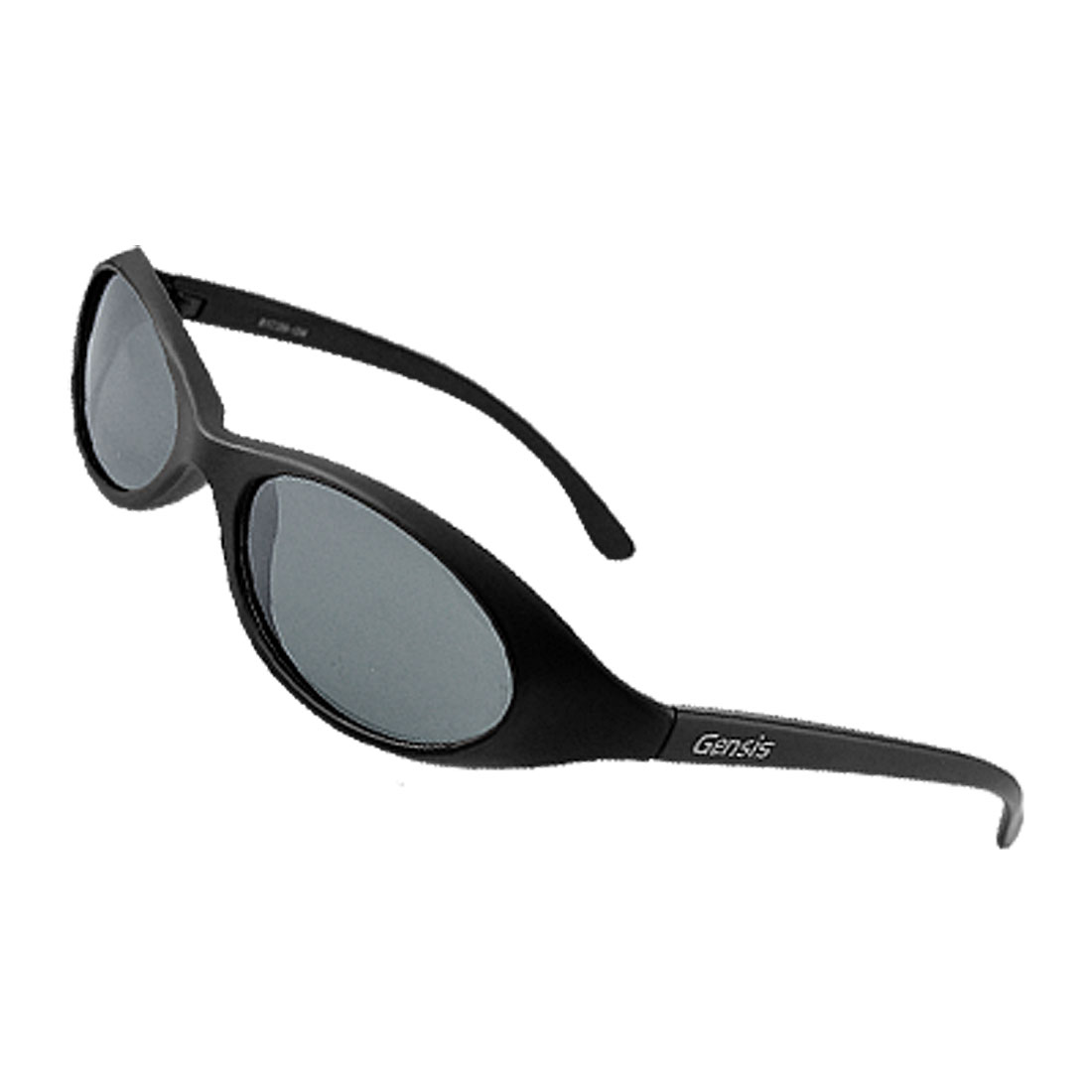 Oval Lens Plastic Frame Unisex Men Women Polarized Sunglasses