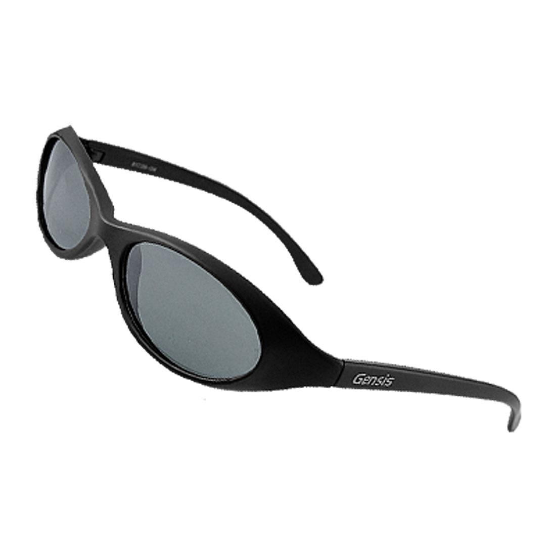 Oval Lens Plastic Frame Unisex Men Women Polarized Sunglasses