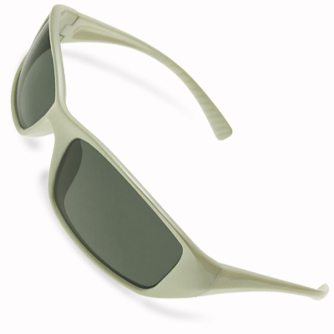 Plastic Frame Polarized Grey Lens Fashion Sunglasses