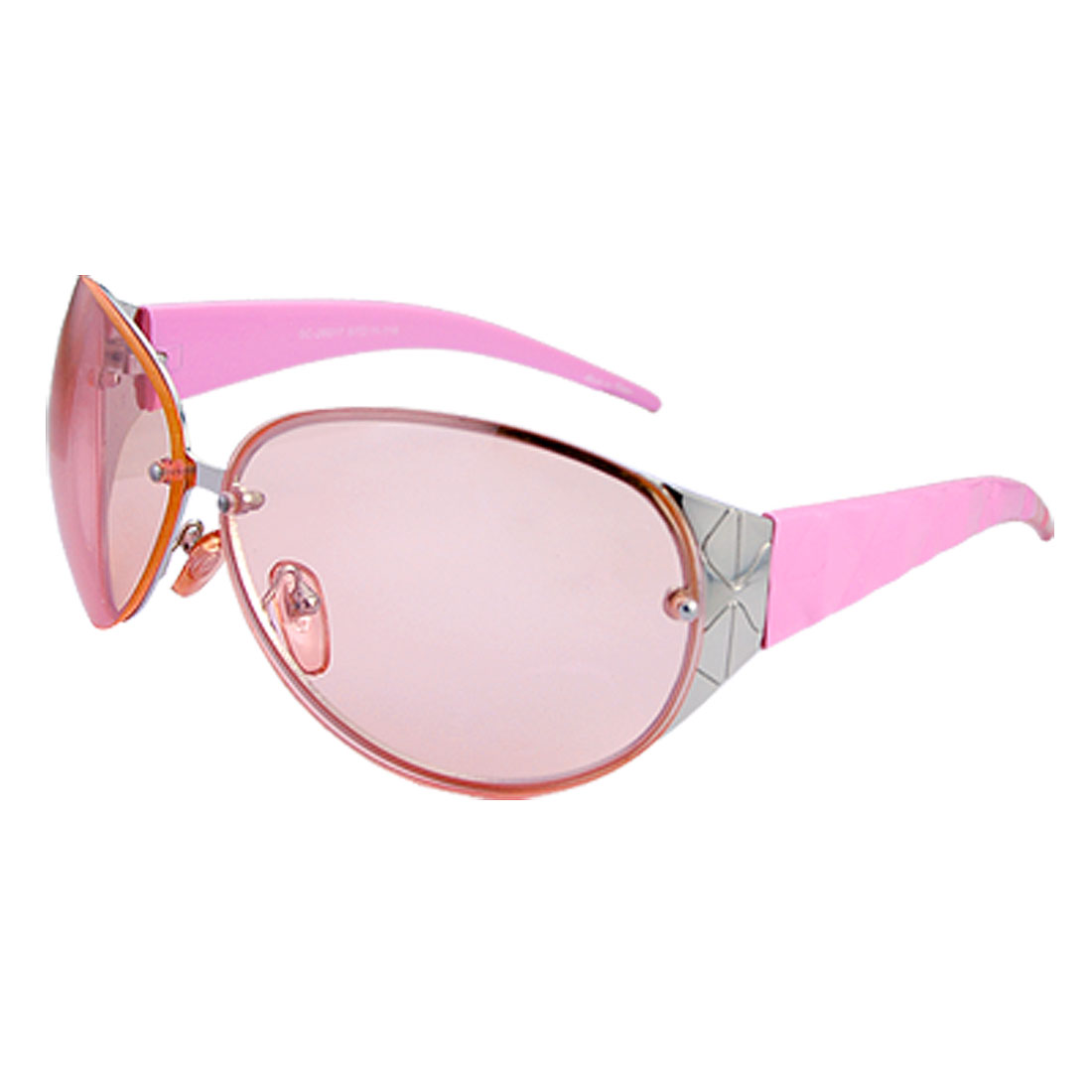 Sporty Ladies's Women's Sunglasses with Big Lenses and Wide Temple