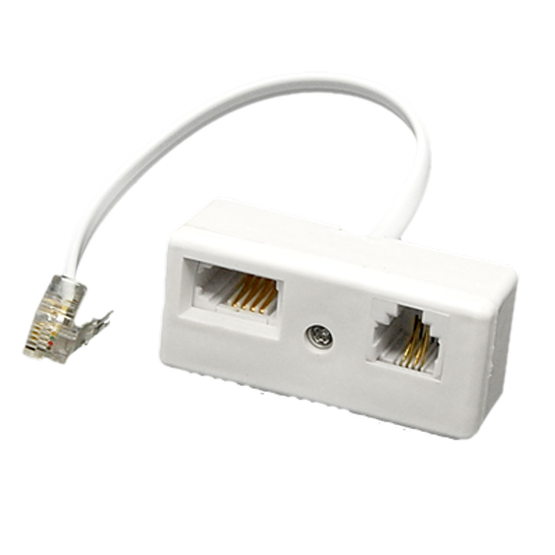 RJ11 Male to RJ11 UK BT Telephone Socket Adapter Splitter