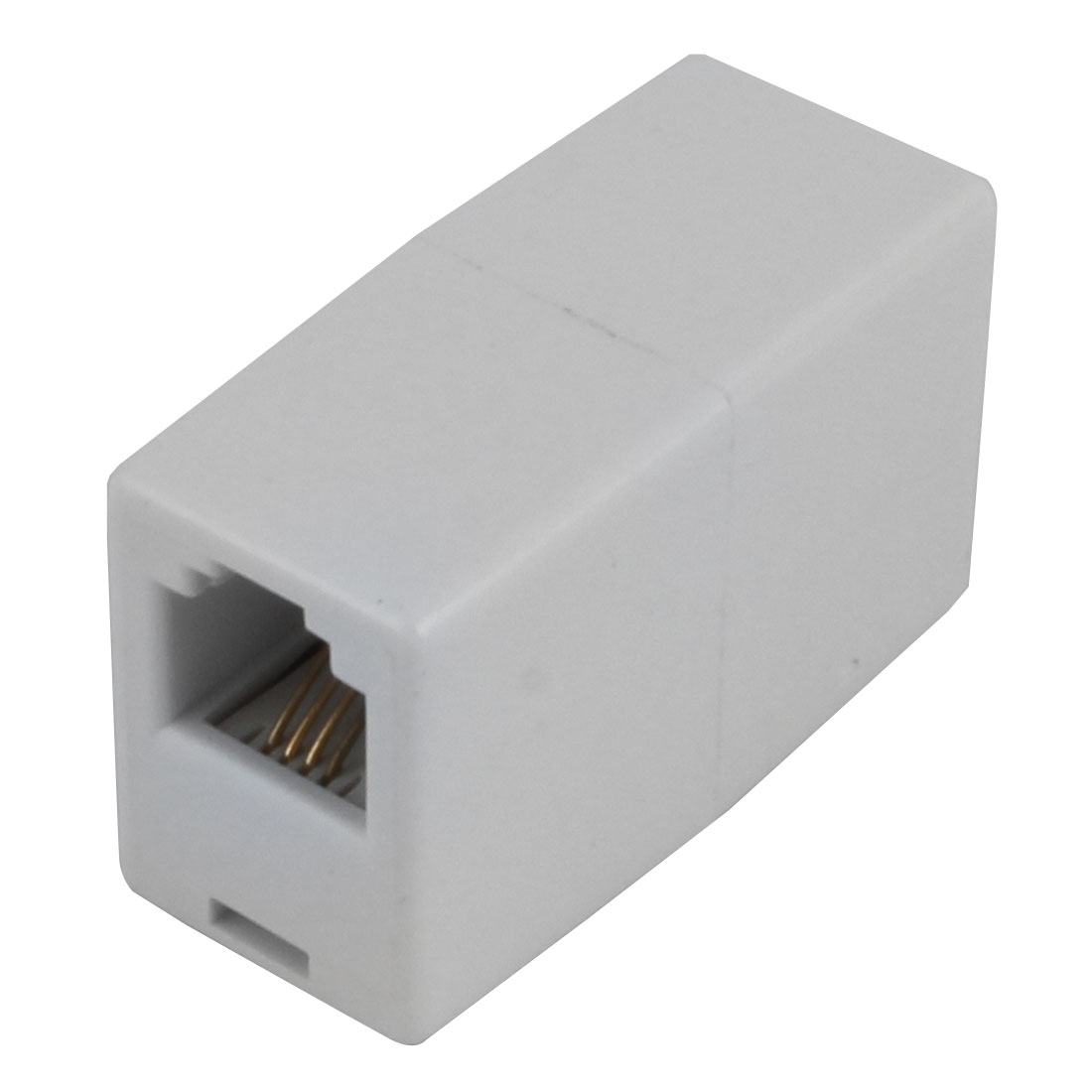 RJ11 6P4C Fax Telephone Straight Coupler Connector Extender Adapter