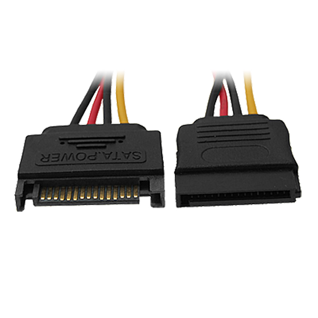 15 Pin Male to Female Series SATA Power Extension Cable