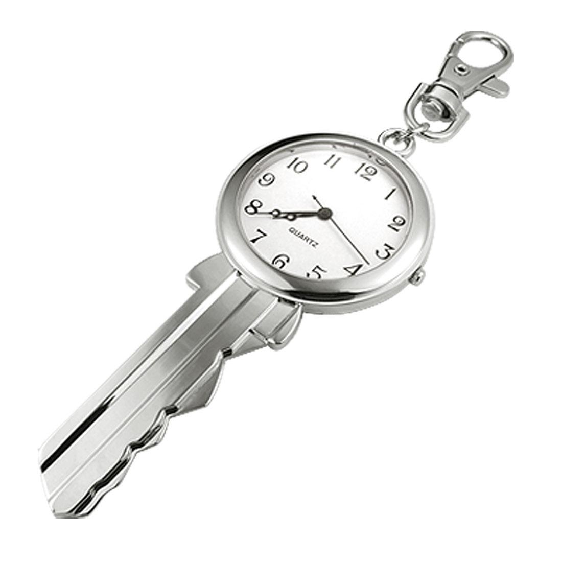 Unique Big Key Shaped Key Chain Clip Watch
