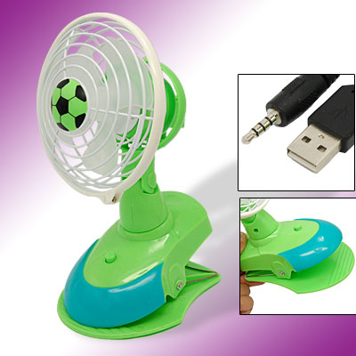 Mini Laptop Computer Desktop USB Cooling Fan with Clip
