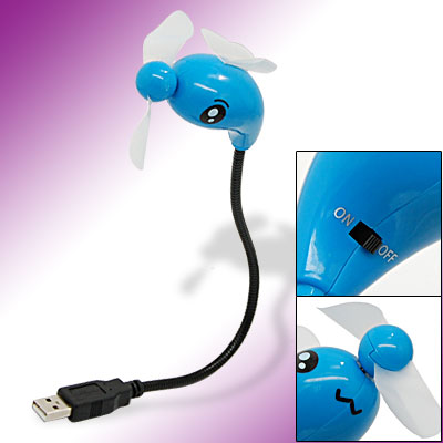Insect Flexible USB Cooling Fan for Laptop PC Computer
