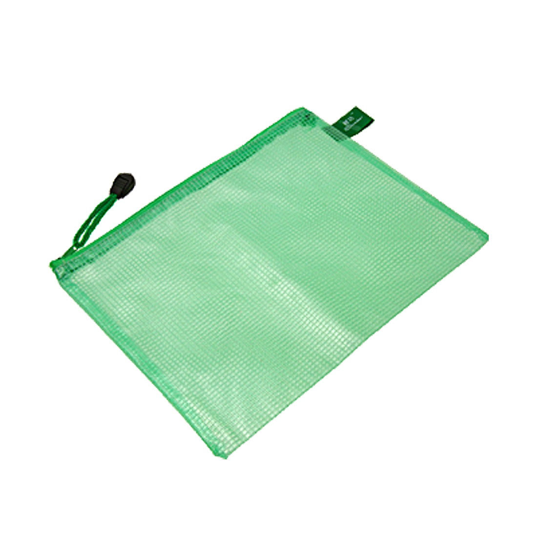 Net Pattern Plastic File A5 Note Paper Book Document Zipper Bag