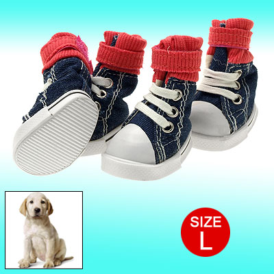 72 x 45mm Sole Dog Shoes Pet Sport Travel Rainy Day Boot