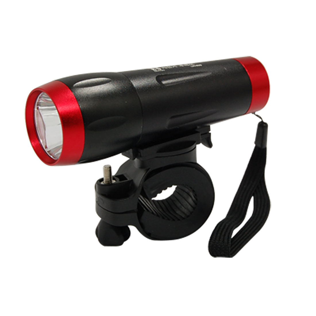 Alloy Bike Bicycle Front LED Flashlight Torch with Holder