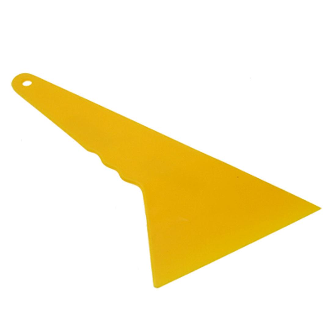 Yellow Hard Plastic Smooth Window Mirror Wiper